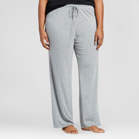 Women's Plus Size Pajama Pants Total Comfort - Gilligan & O'Malley™ - image 1 of 2