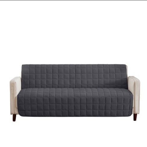 Deep Pile Velvet Armless Sofa Furniture Protector - SureFit - image 1 of 3