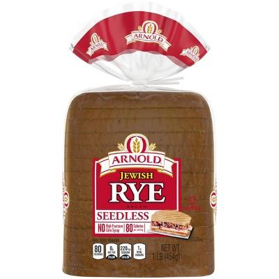 Arnold Seedless Jewish Rye Bread - 16oz