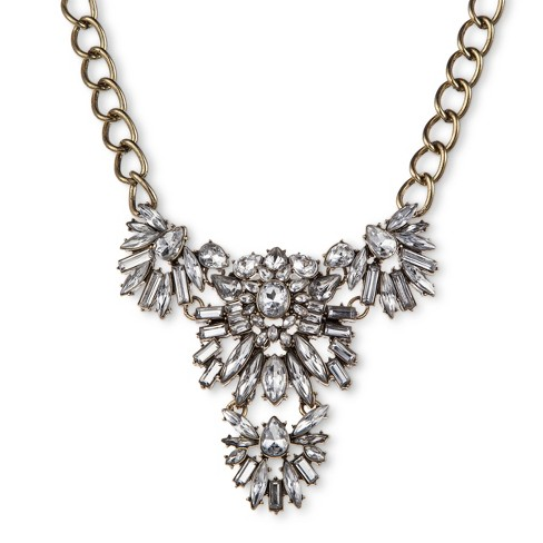 SUGARFIX by BaubleBar Crystal Pendant Necklace - Clear - image 1 of 2