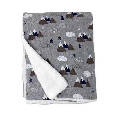 Lolli Living Peaks Stroller Baby Blanket