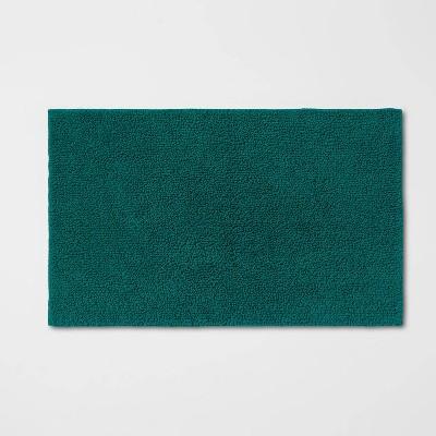 Perfectly Soft Solid Bath Mat Dark Green - Opalhouse™