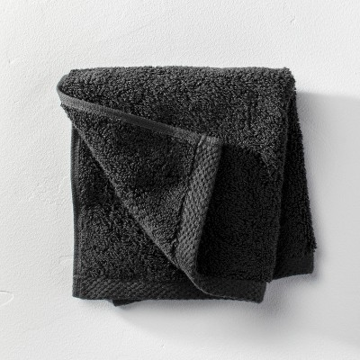 Organic Washcloth Black - Casaluna™