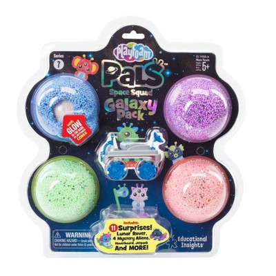 Playfoam Pals Space Squad Galaxy Pack - Blue/Green/Purple - Educational Insights