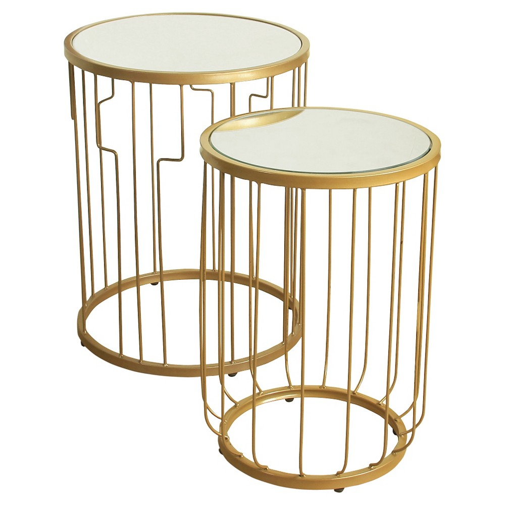 Nesting Tables Mirrored HomePop
