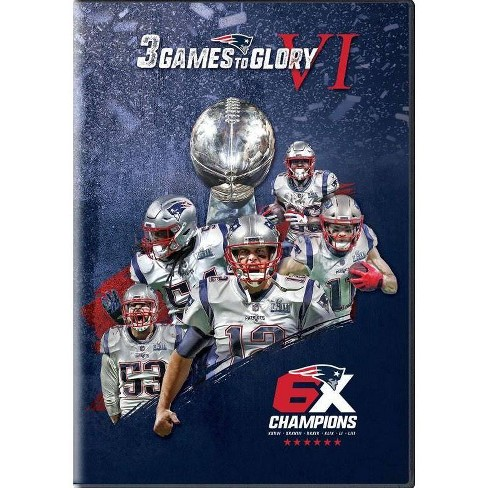 3 Games To Glory Vi: New England Patriots (DVD) - image 1 of 1