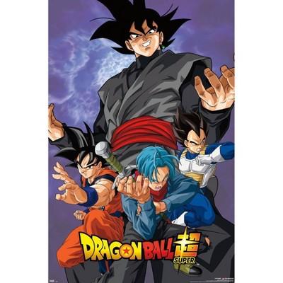 """22.375"""" x 34"""" Dragon Ball: Super - VIllain Unframed Wall Poster Print - Trends International"""
