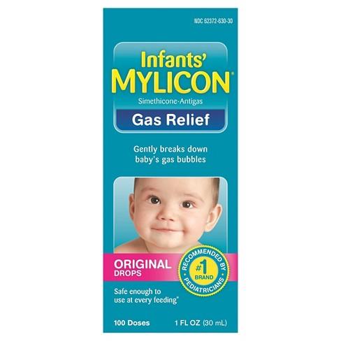 Mylicon Infants' Original Drops Gas Relief 100 Doses - 1 fl oz - image 1 of 1