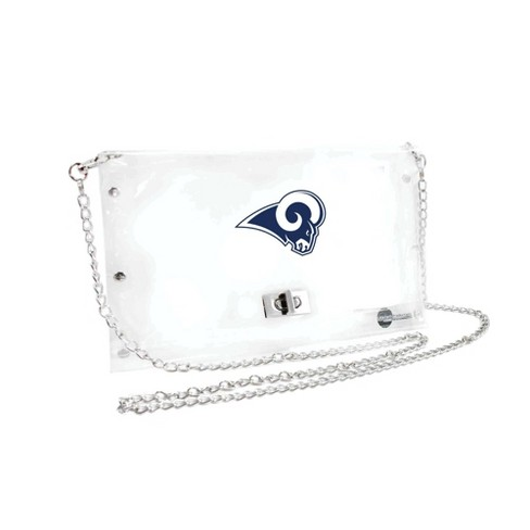 NFL Los Angeles Rams Clear Envelope Purse - image 1 of 1