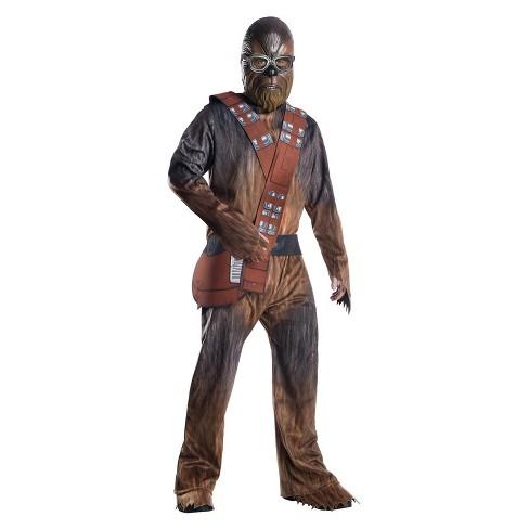 Chewbacca Halloween Costume | Men S Solo A Star Wars Chewbacca Halloween Costume Target