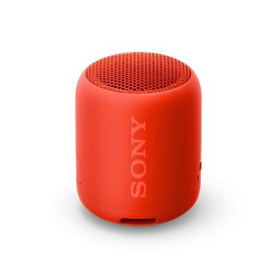 Sony XB12 Portable Wireless Bluetooth Speaker- Red (SRSXB12/R)