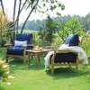 Caterina Teak Lounge Chair with Cushion - Cambridge Casual - image 2 of 4