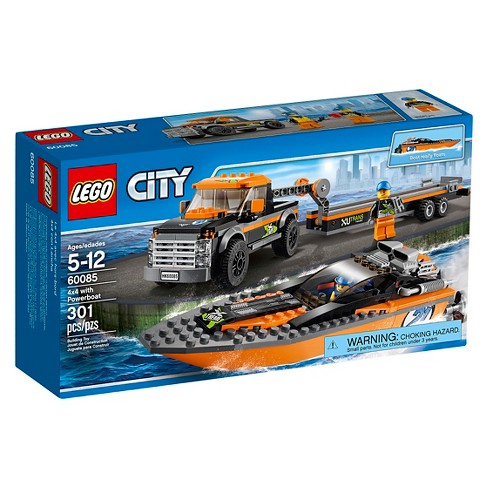 LEGO® City Great Vehicles 4x4 with Powerboat 60085 - image 1 of 11