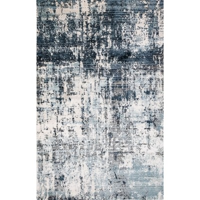 7'10 X9'10  Galaxy Woven Area Rug Gray - Liora Manne
