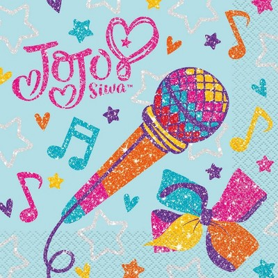 JoJo Siwa 16ct Party Paper Napkins