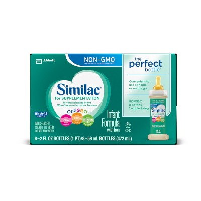 Similac for Supplementation Non-GMO - 2 fl oz/8pk