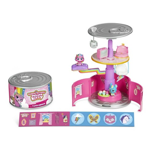 Rainbow Butterfly Unicorn Kitty 9 Lives Surprise Playset - image 1 of 4