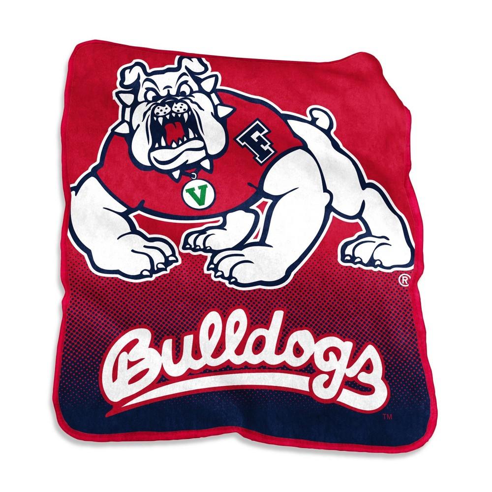 Ncaa Fresno State Bulldogs Raschel Throw Blanket