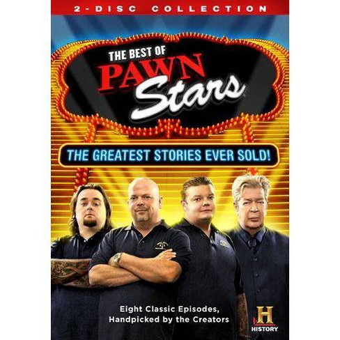 Best of Pawn Stars: The Greatest Stories Ever Sold (DVD) - image 1 of 1
