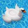 4-Pack Swimline Giant Inflatable Ride-On 75-Inch Swan Floats | 4 x 90621 - image 3 of 4