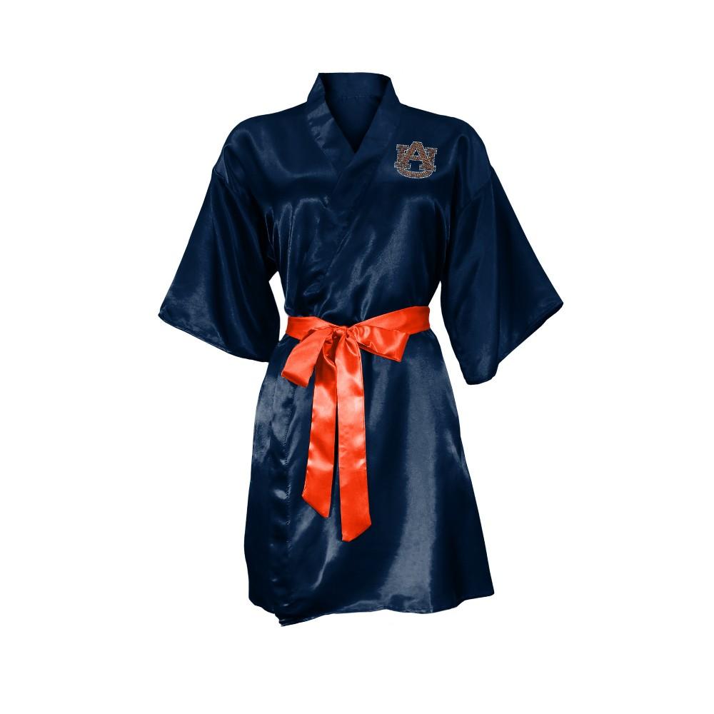 NCAA Auburn Tigers Little Earth Satin Kimono - S/M