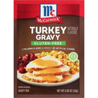 McCormick Gluten Free Turkey Gravy .88oz