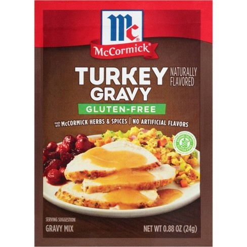 McCormick Gluten Free Turkey Gravy .88oz - image 1 of 4