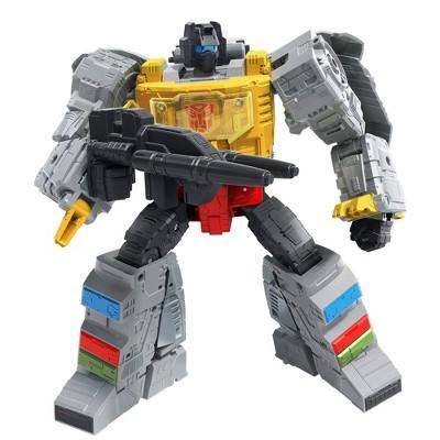 Transformers Studio Series 86-06 Leader The Transformers The Movie Grimlock and Autobot Wheelie