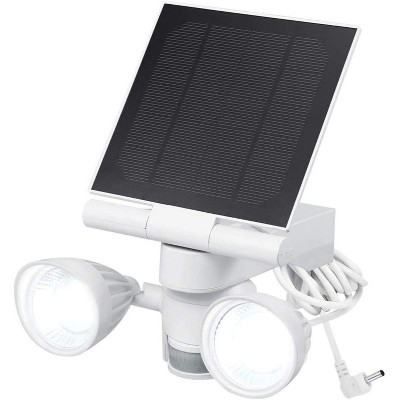 Wasserstein Ring Floodlight and Solar Panel Charger - Motion-Activated for Ring Stick Up Cam Battery and Ring Spotlight Cam Battery