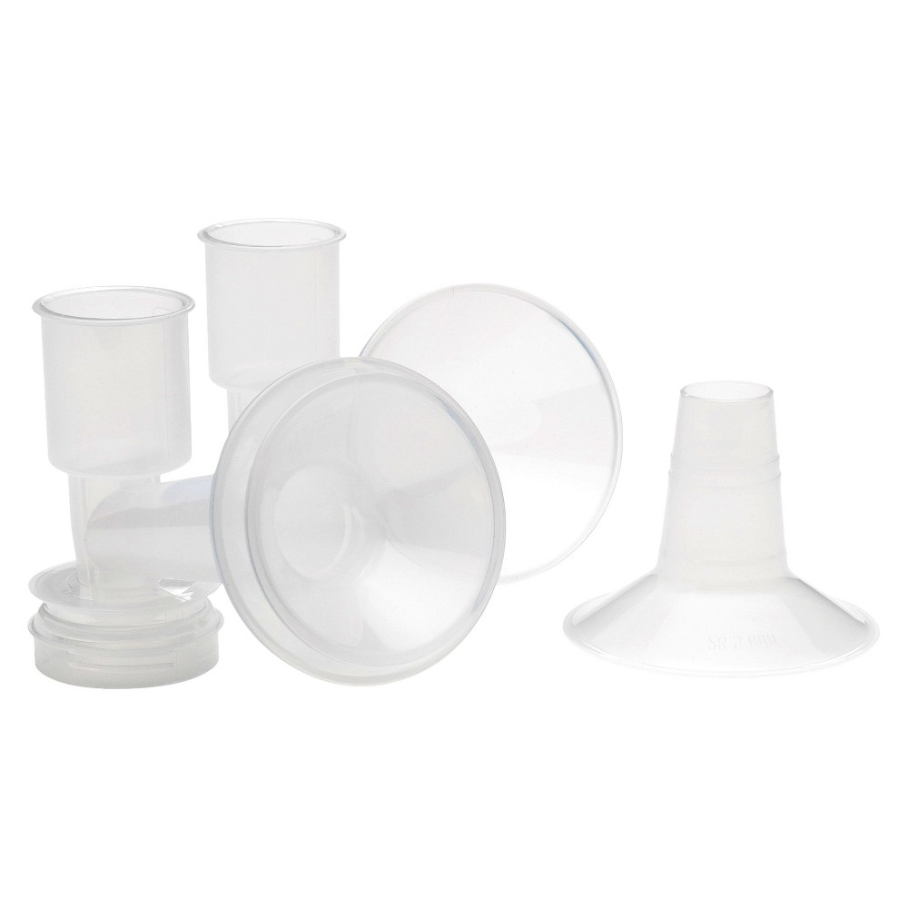 AMEDA Custom Fit Breast Flanges, Clear