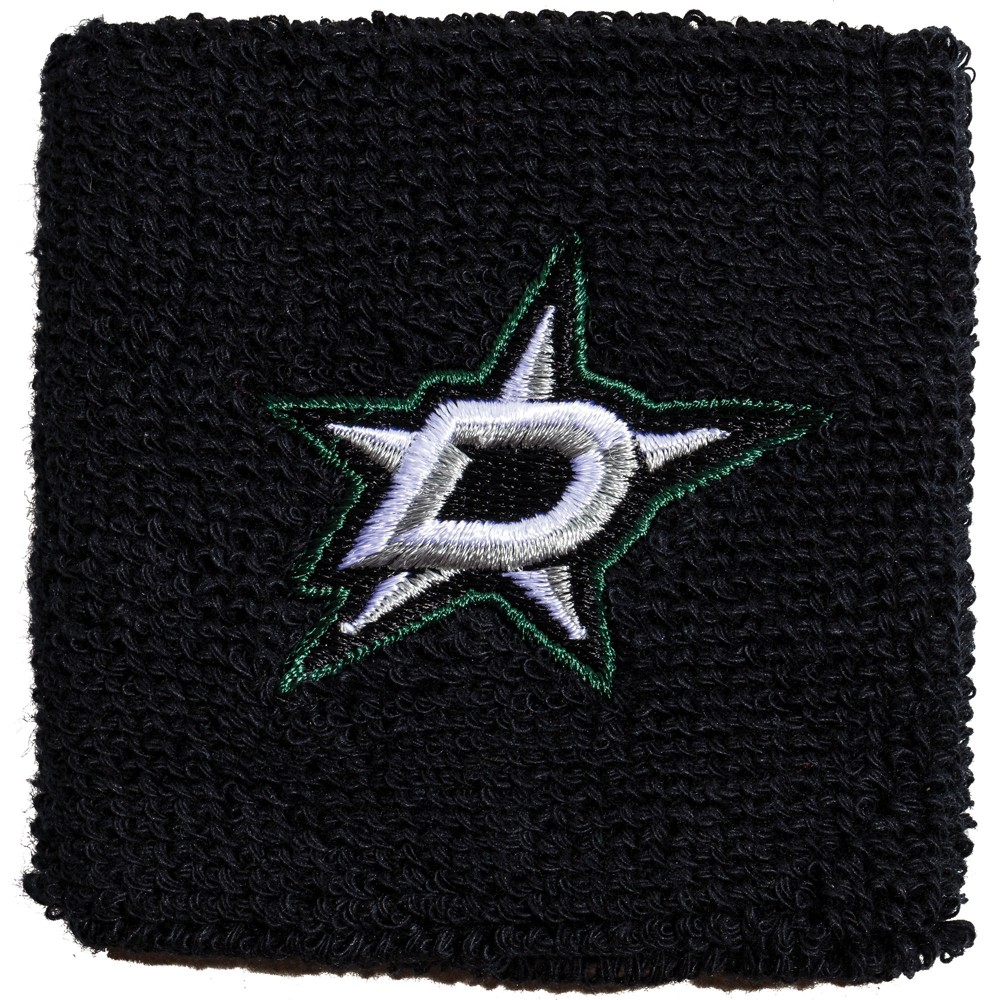 NHL Dallas Stars Franklin Sports Wristband 2pk, Adult Unisex