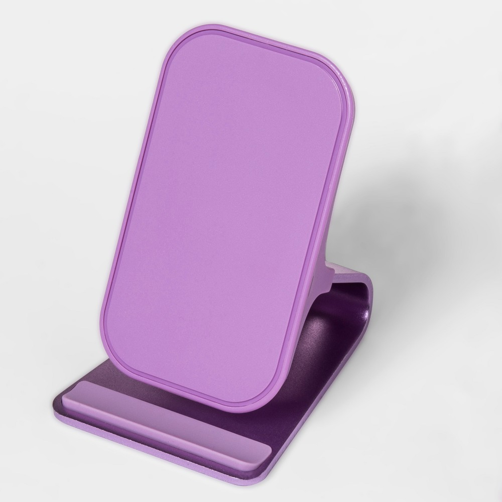 heyday Qi Wireless Charging Stand - Lilac Fancy heyday Qi Wireless Charging Stand - Lilac Fancy