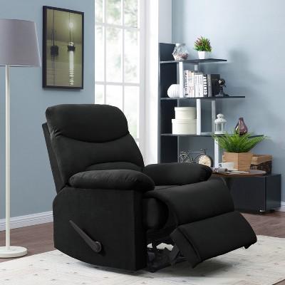 Wall Hugger Microfiber Pillow Top Arm Recliner Chair -  ProLounger