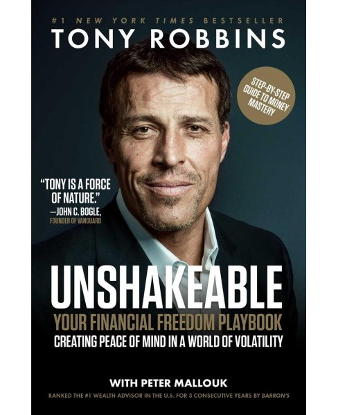 Unshakeable : Your Financial Freedom Playbook (Hardcover) (Tony Robbins) - image 1 of 1