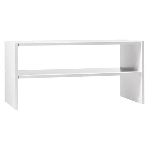 white shoe rack 24