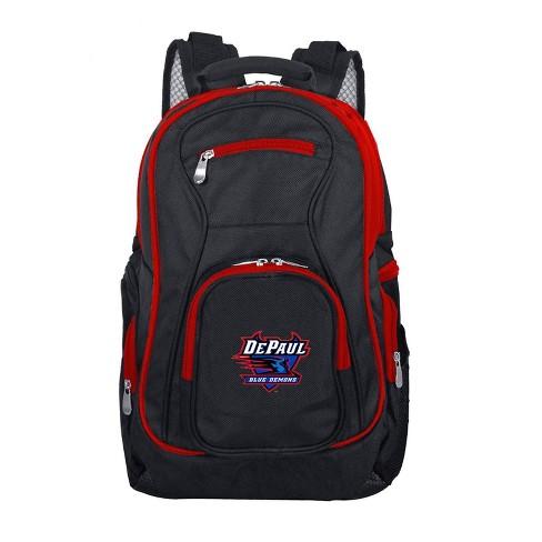 NCAA DePaul Blue Demons Colored Trim Backpack - image 1 of 1