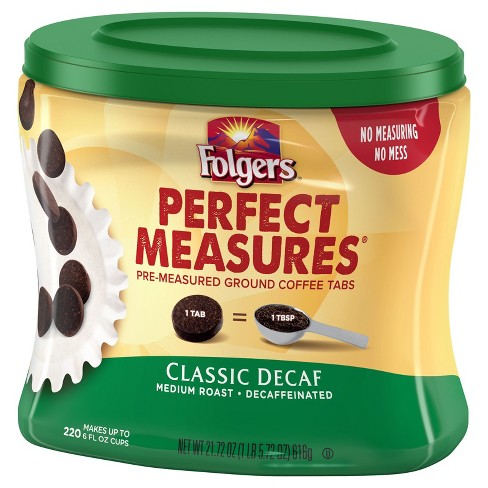Folgers Perfect Measures Classic Medium Roast Decaf 220ct - image 1 of 1