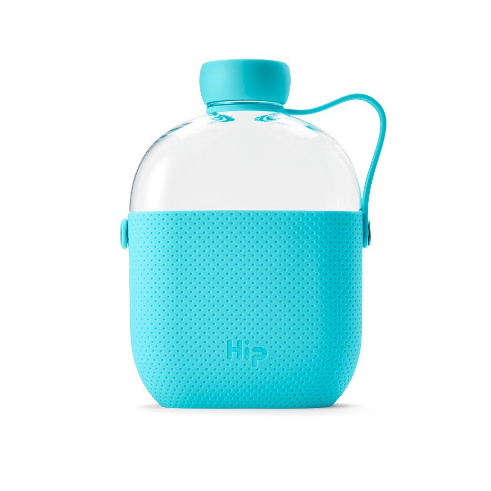 Hip 22oz Water Bottle Aqua, Blue