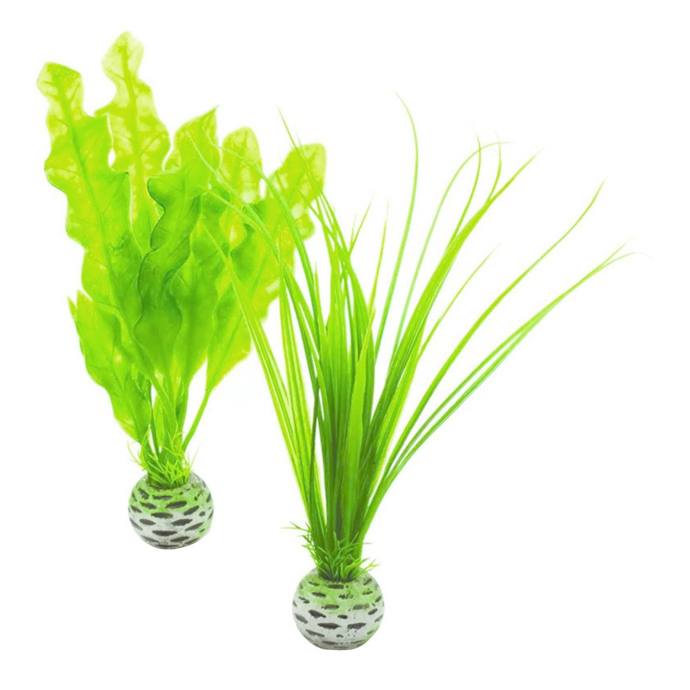 Biorb Easy Plant Set Aquarium Artificial Plants Green S