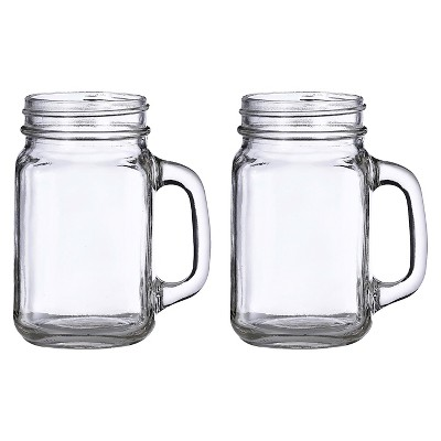 2ct Mason Jar Mugs