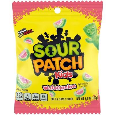Sour Patch Watermelon Peg Bag - 3.6oz