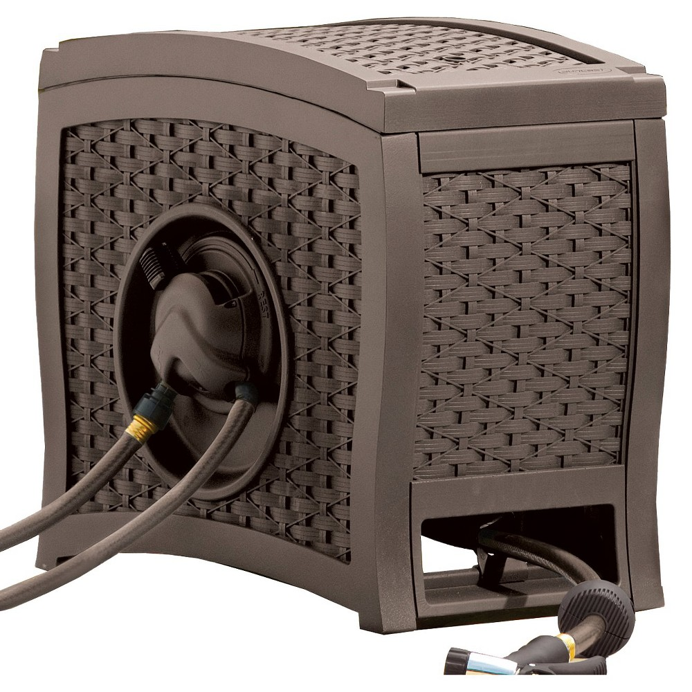 Image of Touch And Go Hose Reel - Brown - Suncast
