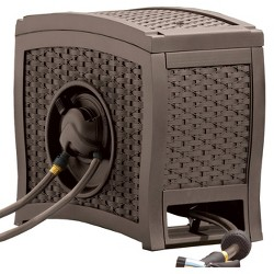 Touch And Go Hose Reel - Brown - Suncast