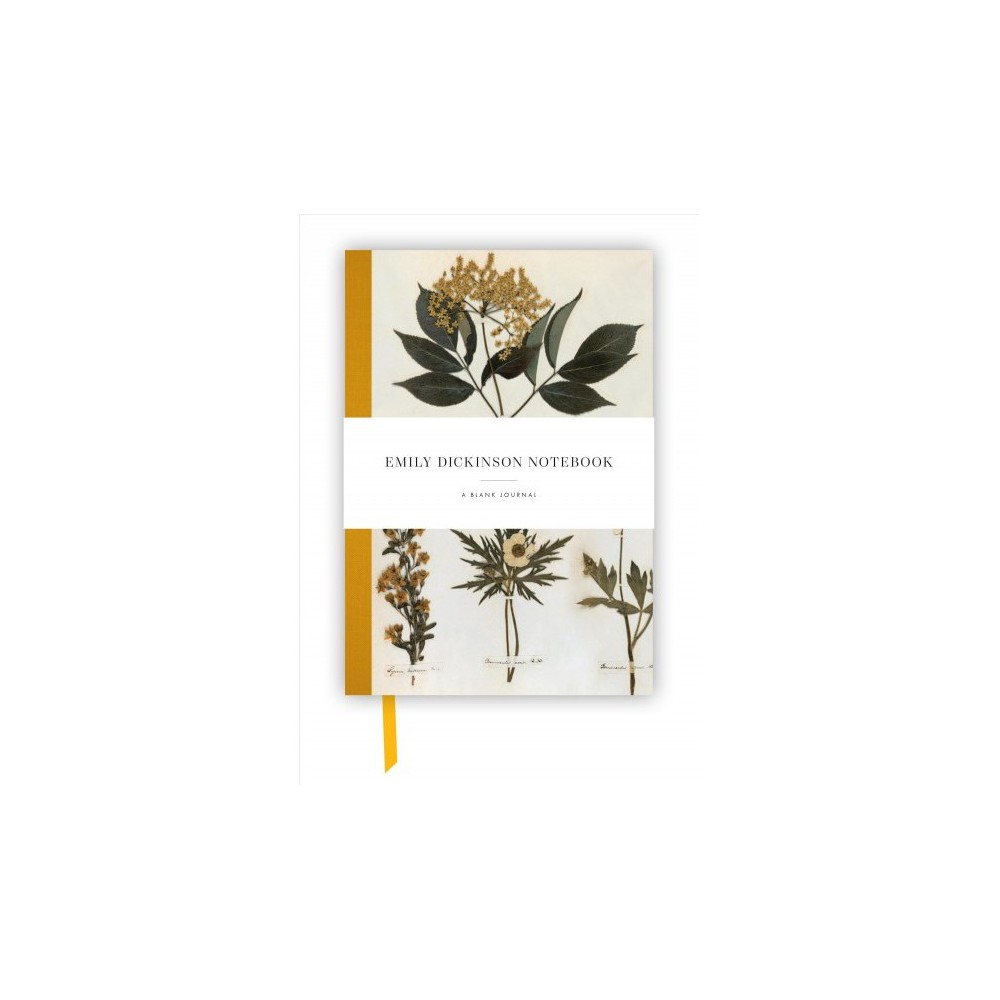 Emily Dickinson Notebook : A Blank Journal Inspired by the Poet's Writings and Gardens - (Hardcover)