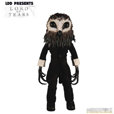 Mezco Toyz Living Dead Dolls Presents Lord of Tears: Owlman | 10 Inch Collectible Doll