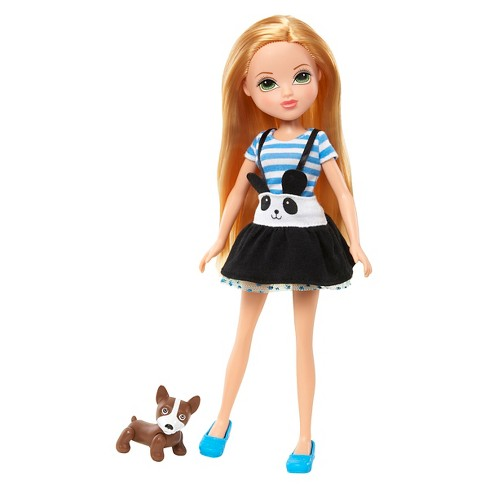 Moxie Girlz Friends Deluxe Doll With Pet Bryten Target
