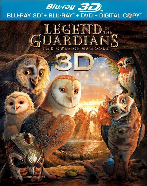 Legend Of The Guardians:Owls 3d (Blu-ray) - image 1 of 1