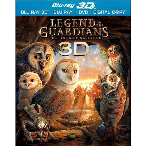 Legend Of The Guardians:Owls 3d (Blu-ray)