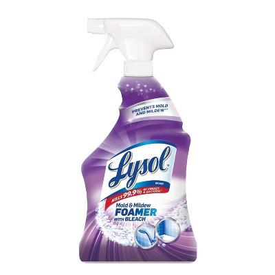 Bathroom Cleaner: Lysol Mold & Mildew