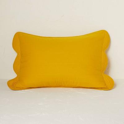 Scalloped Edge Quilt Sham - Opalhouse™ designed with Jungalow™